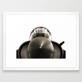 Military Fighter Jet Framed Art Print