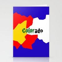 colorado Stationery Cards featuring COLORado by emscrazy8