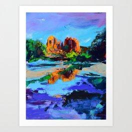 Cathedral Rock - Sedona Art Print