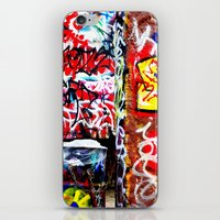 grafitti iPhone & iPod Skins featuring Grafitti by Emily Dolenz Photography