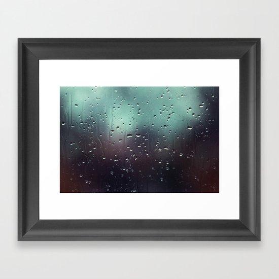 Drop of Water  Framed Art Print