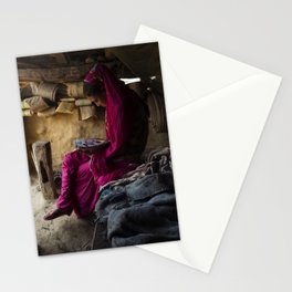 Nepalese Girl Stationery Cards