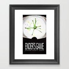 Ender's Game Framed Art Print