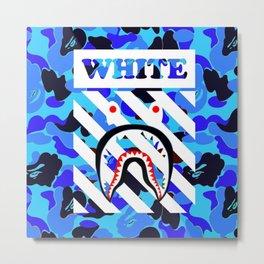 off white bape Metal Print