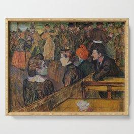 """Henri de Toulouse-Lautrec """"Ball at the Moulin de la Galette"""" Serving Tray"""