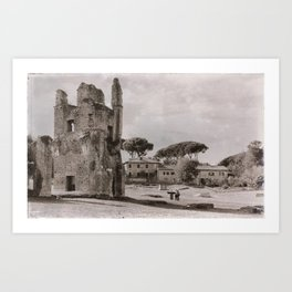Roman Ruins Art Print