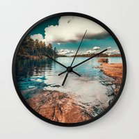 belle Wall Clocks featuring Belle Svezia by HappyMelvin
