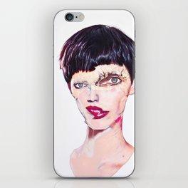 Right brain iPhone Skin