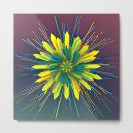 SunZun Flower Metal Print