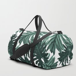 Philo Hope - Tropical Jungle Leaves Pattern #6 #tropical #decor #art #society6 Duffle Bag