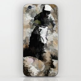 Down and Dirty! - Motocross Racer iPhone Skin