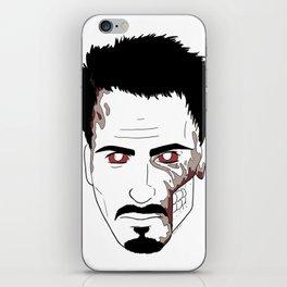 Zombie Robert Downey Jr. iPhone Skin