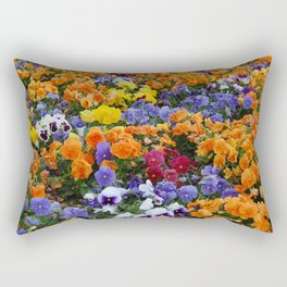 Pancy Flower 2 Rectangular Pillow