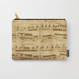 Vintage Sheet Music Carry-All Pouch