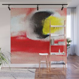 Abstract art. A painting for Tomie Ohtake Wall Mural