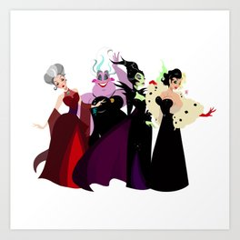 Bad Witches Art Print