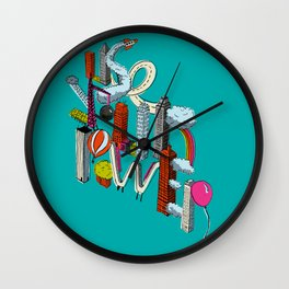 Use Your Power Wall Clock