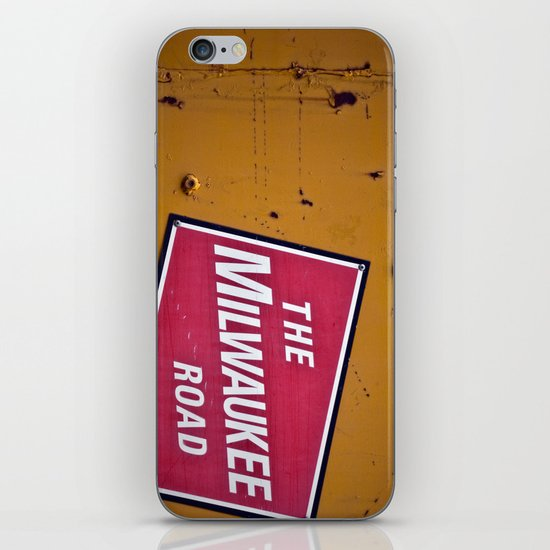 The Milwaukee Road iPhone & iPod Skin