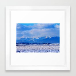 Alberta Winter Framed Art Print
