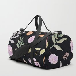 Simple and stylized flowers 20 Duffle Bag