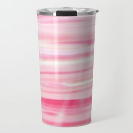 Cute pink paint wood Travel Mug