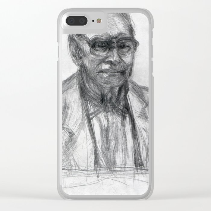 Ennio Morricone - The Portrait I Clear iPhone Case