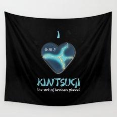 i love kintsugi Wall Tapestry
