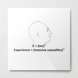 Experience equal... Metal Print