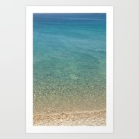 greece Art Prints featuring GREECE by Deadly Designer