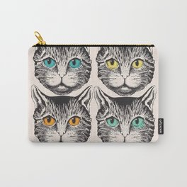 Mystic Cat Guccy/Gucci Carry-All Pouch