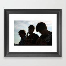 Beach Serenade Framed Art Print