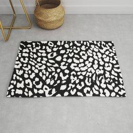 Black & White Animal Print  Rug