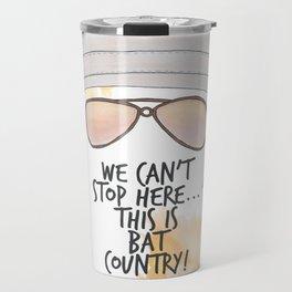 Bat Country Travel Mug