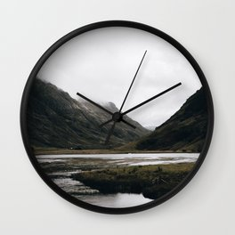 Glen Coe / Scotland Wall Clock