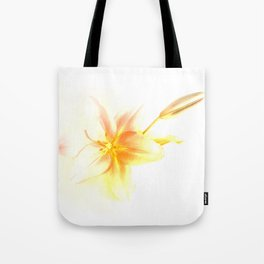 Pink and Yellow Tiger Lily - Dreamy Floral Photography - Flower Art Prints, T-shirts, Phone Cases... Tote Bag