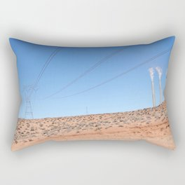 The Pinks and Blues of Antelope Canyon 01 Rectangular Pillow