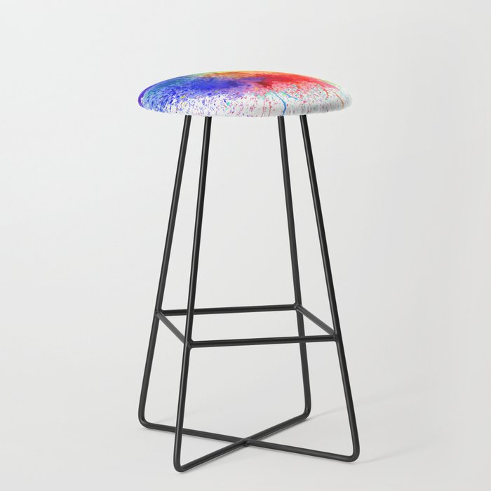 Festival of Colors Bar Stool