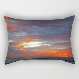 Scattered Fire Rectangular Pillow