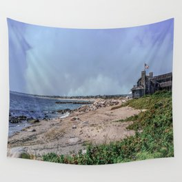 Watch Hill Beach Wall Tapestry