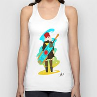 transistor Tank Tops featuring Transistor by Jamerson