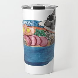 Frenchie Ramen Travel Mug