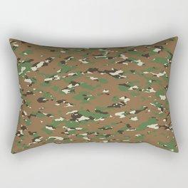 Camouflage: Woodland I Rectangular Pillow