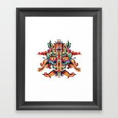 XL Mask Framed Art Print