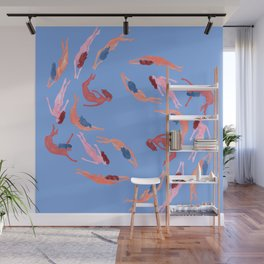 Go With the Flow Wall Mural