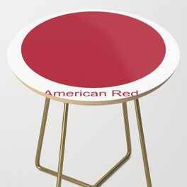 American Red Side Table