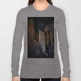 Warning... Enter At Your Own Risk Long Sleeve T-shirt