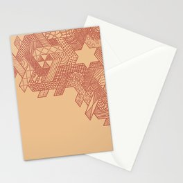 Tessellating Textures Stationery Cards