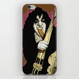 Poster The Great Gene Simmons iPhone Skin