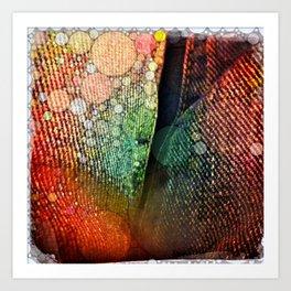 Denim Art Print