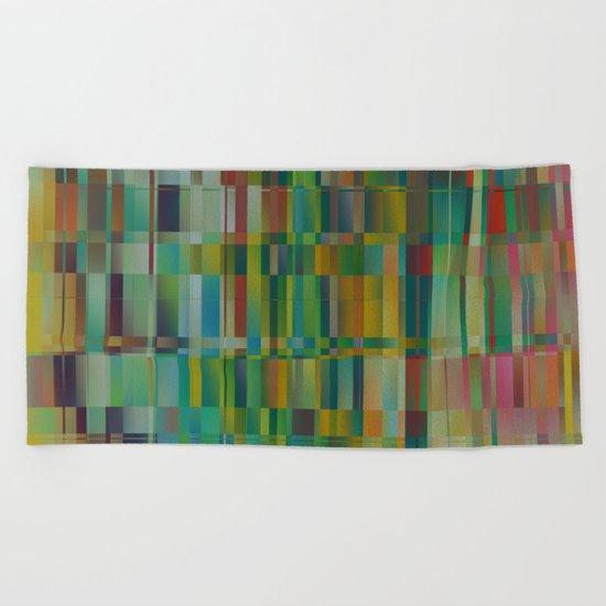 Abstract 219 Beach Towel